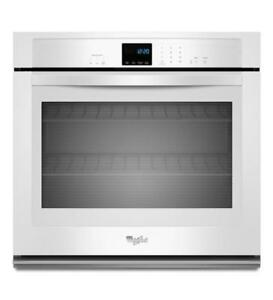 White Whirlpool WOS51EC7AW Single Wall Oven (BD-983)