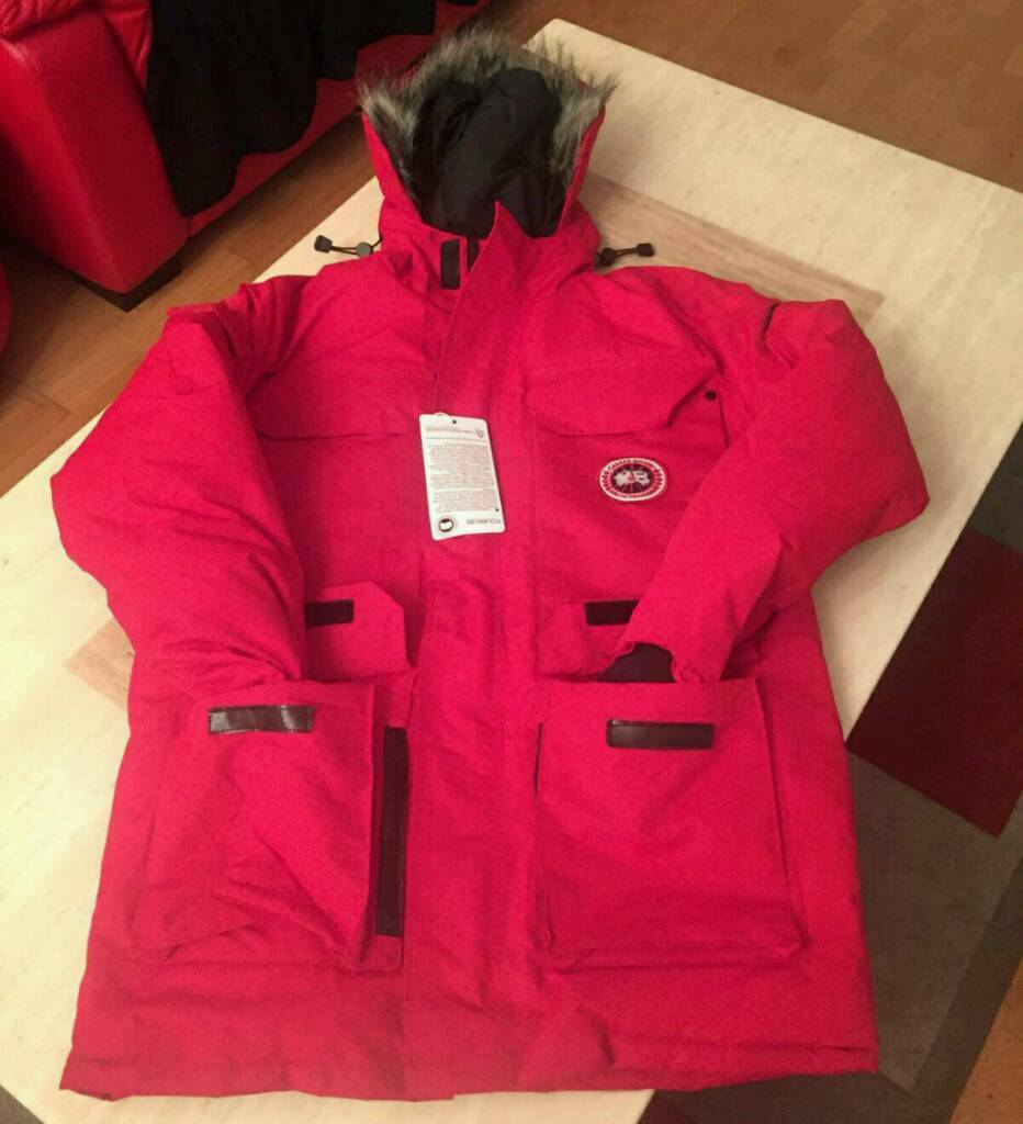 canada goose red tag