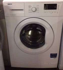 Beko WM74135 7kg 1300 Spin White LCD A++ Rated Washing Machine 1 YEAR GUARANTEE FREE DEL N FIT