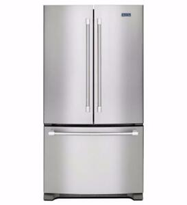 Maytag 36-inch Refrigerator, French Doors, Stainless