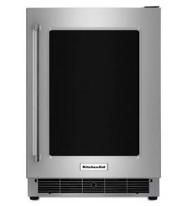 "KitchenAid 24"" Stainless Steel Undercounter Refrigerator at Cheap Price in GTA (BD-1998)"
