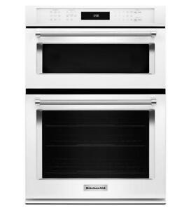 KitchenAid® 27 Combination Wall Oven KOCE507EWH(MP_179)