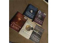 Used books - A song of Ice and Fire by George R. R. Martin, Game of Thrones