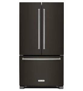 KitchenAid® Standard Depth French Door Refrigerator 36-Width KRFF305EBS (MP_150)