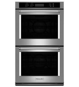 "KitchenAid®  27"" Double Wall Oven KODE507ESS (MP_173)"