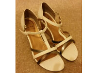 Nearly New Wedge Shoes. Size 5