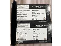Ed Sheeran Tickets for Sale