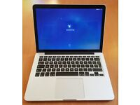 MacBook Pro 13inch - Intel i7, 8Gb RAM, 500Gb storage