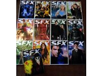 SFX magazine 2008 collection - special subscriber editions