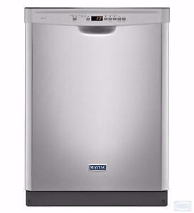 Lave-vaisselle en acier inoxydable 24'', Maytag