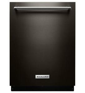 KitchenAid® KDTE334GBS DBA Dishwasher with Fan-Enabled ProDry System and PrintShield Finish-Brand New(MP_167)