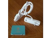 Apple iPod shuffle 2nd Generation Light Blue Complate with Desk Charger & Earphones New