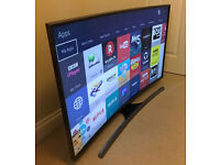 CURVED 3D - 48in Samsung - UHD 4K LED Smart TV Voice ctrl -HDR- WIFI- Freeview & Freesat HD