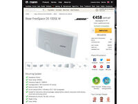BOSE FREESPACE DS 100SE indoor / outdoor installation rrp £400
