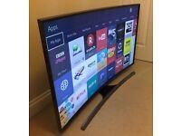 "**CURVED** Samsung 48"" 7 Series 4K UHD Smart 3D TV -FREEVIEW/SAT HD -WIFI VOICE CTRL WARRANTY"
