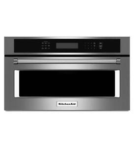 KITCHENAID NEW KMBP107ESS  1.4 CU FT BUILT IN MICROWAVE(BD-1531)