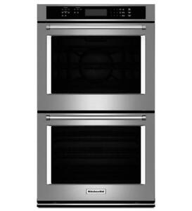 KitchenAid KODE500ESS Double Wall Oven with Even-Heat True Convection