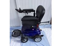 The Cobalt X16 a lightweight powerchair designed to be manouverable and adaptable