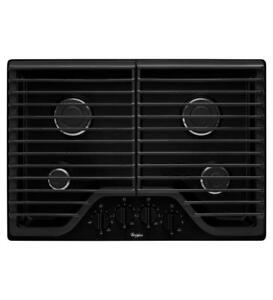 wide selection of cooktops on Sale |Whirlpool WCG51US0DB Gas Cooktops (BD-975)