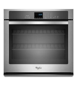 "30"" Self Clean Single Wall Oven Whirlpool WOS51EC0AS (BD-987)"