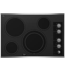 Electric Cooktop in Stainless Steel |Whirlpool G7CE3034XS electric-cooktops (BD-970)