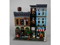 Lego detective's office. complete with box & instructions
