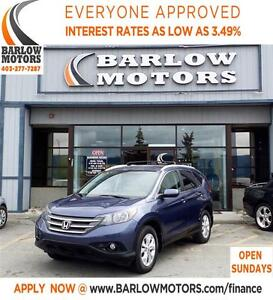 2012 Honda CR-V EX-L AWD LEATHER/HEATED SEATS**SPRING BLOWOUT*