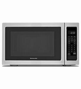 Micro-ondes 1.6ft 1000W Stainless Kitchenaid ( YKCMS1655BS )