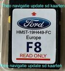 ✅ Nieuwste SD kaart Ford Sync2 F8 update Europa 2019-2020