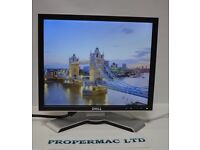 """Dell 17"""" LCD Monitor Flat Panel Computer Screen GRADE B + CABLES/ 24H DELIVERY"""