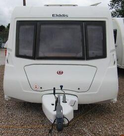 ELDDIS CRUSADER SUPER SIROCCO 2010 *FIXED BED* 4 BERTH *REDUCED..WAS £10950* CARAVAN