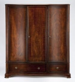 Willis & Gambier Heirloom Collection. Double + Triple Wardrobe, Bed Frame, 2+2 Drawer Set - Pristine
