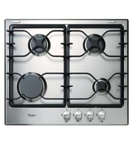 24 Inch Gas Cooktop.|Whirlpool WCG52424AS Gas Cooktops (BD-973)