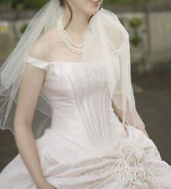 Wedding Dress Justin Alexander size 6