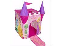 Disney Princess pop up tent.