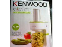kenwood electric spiralizer