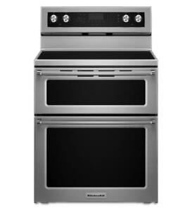 KitchenAid® YKFED500ESS 5 elements Electric Double Range (MP_156)