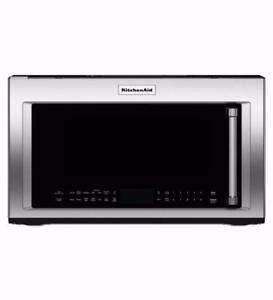 Four micro-ondes à convection KitchenAid 30 po, Showroom