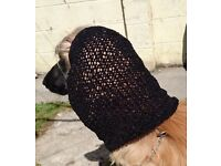 SNOOD HOOD FOR AFGHAN HOUND