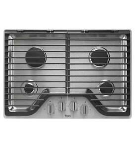 built-in gas cooktop features 4 burnerson sale|Whirlpool WCG75US0DS Gas Cooktops (BD-977)