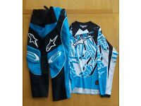 Alpinestars Kids Youth Motocross Gear Set (Pants and Top)