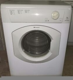 HOTPOINT 7KG VENTED TUMBLE DRYER -IN GOOD WORKING ORDER