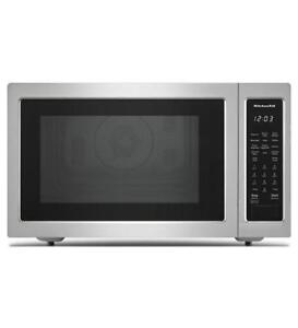 "KitchenAid®  21"" Countertop Convection Microwave Oven  KMCC5015GSS (MP_187)"