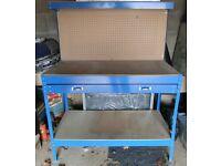 Heavy Duty Workbench For Garage/Workshop/Shed, Pegboard & Drawer