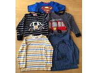 5 x Boys 4-5years LS tops & Jumpers. Next