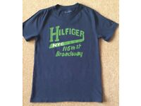 Tommy Hilfiger Navy Boys TShirt 10 Years