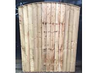 Garden gate wooden gate