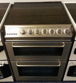 £180 Zanussi 60cm Ceramic Top Cooker - 12 Months Warranty