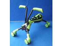 Scramblebug Hornet Design Green and Black childs ride on