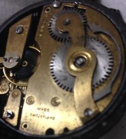 Swiss made pocket watch